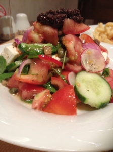 Greek salad of course...