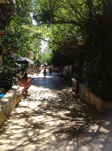 hot street