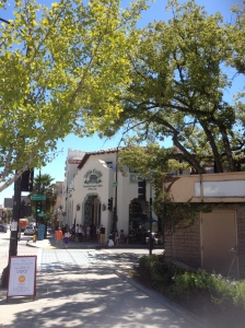 Our Pasadena breakfasts were at the Urth Cafe.