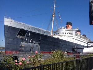 HMS Queen Mary, a hotel in Long Beach since 1967.