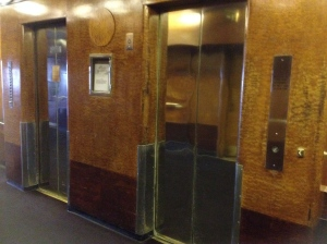 art-deco lifts