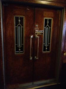 Art Deco doors.