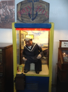 The Laughing Sailor. We've seen one of these before at the museum in Portsmouth, U.K.