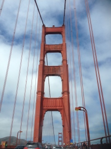 View over GG bridge