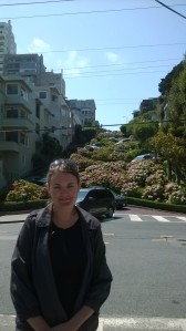 The most wiggly road...Lombard st.