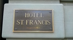 This hotel has several stories...it would seem.