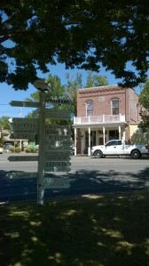 Jack London saloon in Glen Ellen