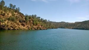 Lake Tulloch is holding up better.