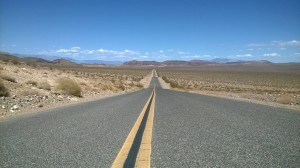 the road to Nevada