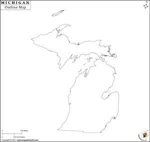 blank-map-of-michigan